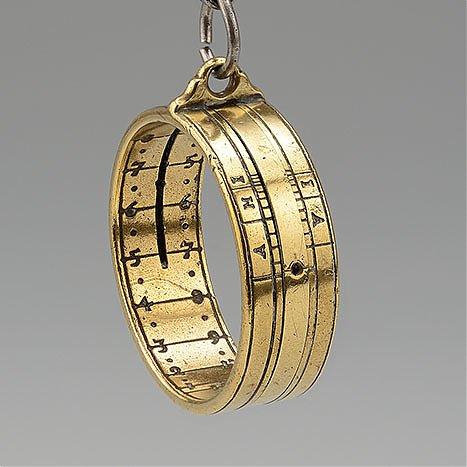 Zegar pierścieniowy wysokościowy