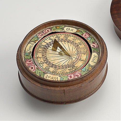 Zegar poziomy, magnetyczny