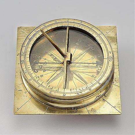Zegar poziomy z kompasem, przenośny, dla rejonów północnych