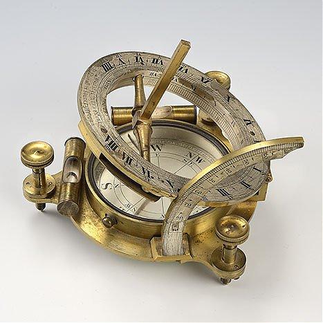 Zegar równikowy, przenośny