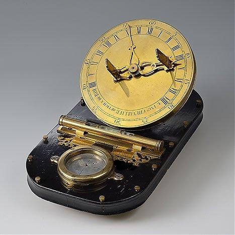 Zegar równikowy, mechaniczny