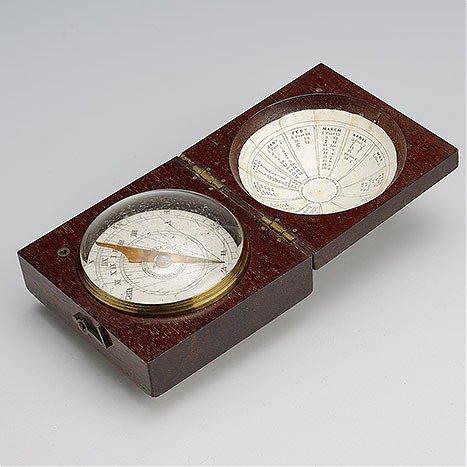 Zegar poziomy magnetyczny, dla rejonów zwrotnikowych