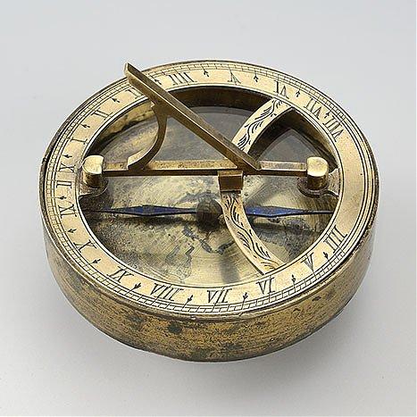 Zegar poziomy z kompasem, przenośny